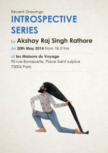 Akshay Rathore Exhibition Paris May20